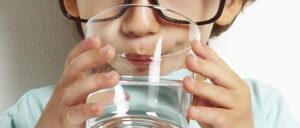Вода важна для здоровья ребенка